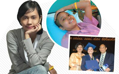 Perjuangan Ashni Sastrosubroto Meraih Kemenangan Perangi Kanker