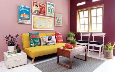 Inspirasi Gaya Retro untuk Dekorasi Rumah, Ini Aturan Mainnya