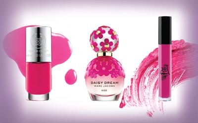 3 Produk Kecantikan Serba Hot Pink