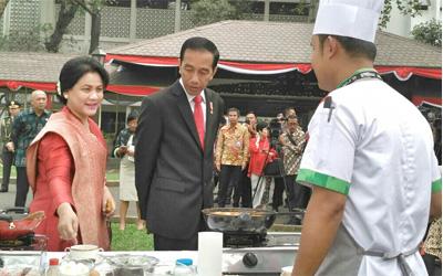 Kesempatan Sekali Seumur Hidup Masak untuk Jokowi, Ini Pengakuan Peserta!