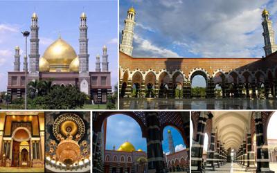 Masjid Dian Al-Mahri, Si Kubah Emas yang Memikat