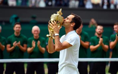 Menjuarai Grand Slam Wimbledon Menjelang Usia 36 Tahun, Ini 10 Fakta Roger Federer