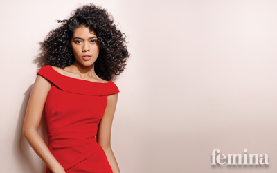 Michelle Tahalea, Membuktikan Diri di Dunia Modeling