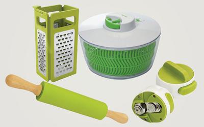 4 Produk Kebutuhan Dapur Serba Hijau