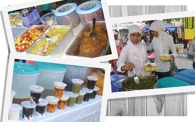 Pusat Jajanan Ramadan Bintaro Sektor 9