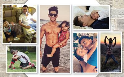 Menyambut Hari Ayah, Berikut Foto-foto Mesra 6 Selebritas dengan Anak-anak Mereka