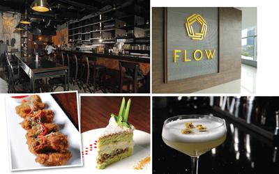 Nuansa Lima Elemen di Flow Restaurant & Bar