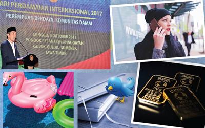 5 Berita Heboh Sepekan: Presiden Jokowi Ajak Perempuan Jadi Agen Perdamaian hingga Wajib Registrasi Ulang Kartu SIM Mulai 31 Oktober 2017