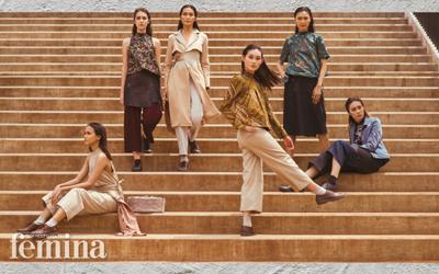 Inspirasi Gaya Wastra Tradisional yang Stylish dari Pemenang Lomba Perancang Mode 2017