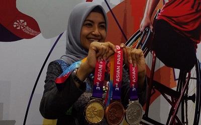 Asian Para Games 2018 untuk Pertama Kalinya Menghadiahkan Medali Dengan Bunyi Gemerincing