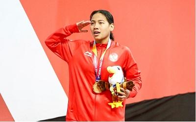 5 Pelajaran Hidup di Balik Emas Pertama Syuci Indriani di Asian Para Games 2018