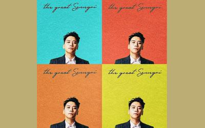 The Great Seungri, Album Terbaru Seungri BIGBANG Yang Seru dan Cocok Untuk Dance