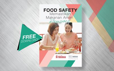 Free Download: Untuk Para Pebisnis Kuliner, E-Book Food Safety, Memastikan Makanan Aman Dikonsumsi