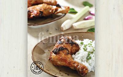 Resep Ayam Panggang Bumbu Rendang