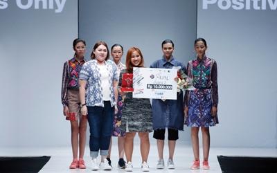 Caramia Sitompul, Pemenang II Lomba Perancang Mode 2017, Ingin Berbagi Kebahagian Lewat Fashion