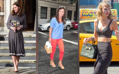 Dari Taylor Swift Hingga Kate Middleton, Cek 15 Gaya Selebritas dengan Tas Kate Spade