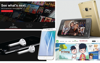 Kaleidoskop 2016: Samsung, OPPO, Netflix, dan iPhone Memonopoli Pencarian Teknologi di Tahun Ini