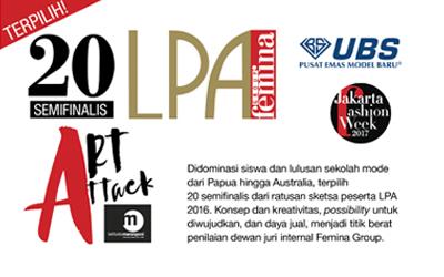 Inilah 20 Semifinalis LPA Art Attack: The Next Style Maker!