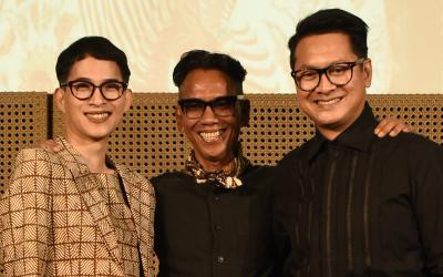 Oscar Lawalata, Edward Hutabarat, dan Denny Wirawan Akan Bawa Batik Ke UNESCO Paris
