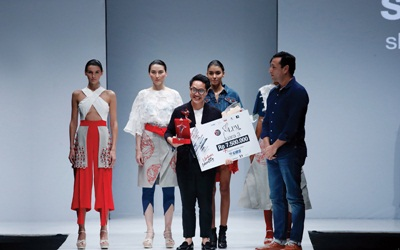 Anthony Tandiyono, Pemenang III Lomba Perancang Mode 2017, Mendapat Platform Bisnis Baru