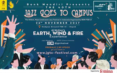 Pencinta Musik Jazz, Jangan Lewatkan The 40th Jazz Goes To Campus Festival