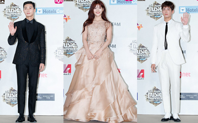 Parade Bintang Drama Korea di Red Carpet Mnet Asian Music Awards (MAMA) 2016, Mulai dari Park Seo-jun Hingga Park Bo-gum