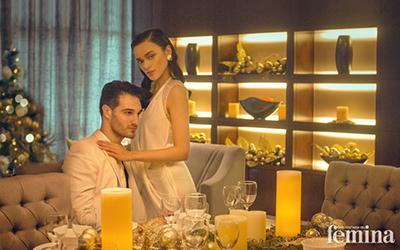 Inspirasi Tampil ke Pesta Bersama Pasangan: Kompak dengan Busana Putih