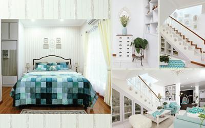 Segarkan Rumah Dengan Warna Hijau Sebagai Aksen Desain Interior