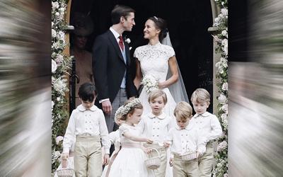Si Kecil Pangeran George Mencuri Perhatian di Pernikahan Bibinya, Pippa Middleton