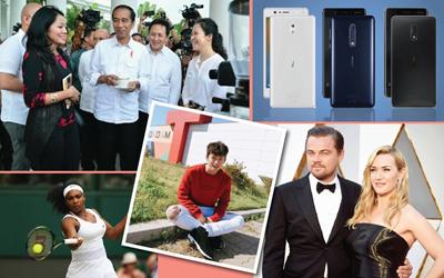 5 Berita Heboh Sepekan: Ngopi Bersama Presiden Joko Widodo Hingga Perasaan Kate Winslet Kepada Leonardo Dicaprio