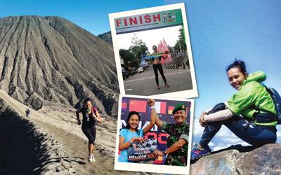 Shindy Patricia, Mewujudkan Kecintaan pada Alam Indonesia dengan Menjadi Trail Runner