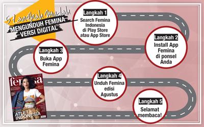 5 Langkah Mudah Mengunduh E-Magz Femina Edisi Agustus 2018