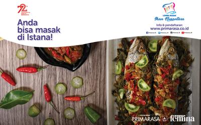 Jadilah Koki Istana dengan Mengikuti Lomba Masak Ikan Nusantara!
