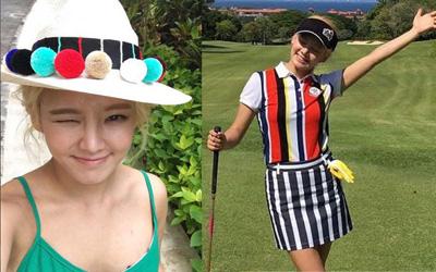 Mengintip Keseruan Hyeyeon dan Sunny 'Girls Generation' Selama di Bali