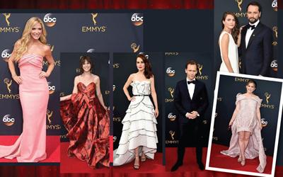 Gaun-gaun Cantik Selebritas di Karpet Merah Emmy Awards 2016