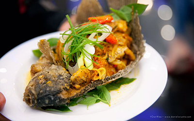Chef Ken Berbagi Resep Gurami