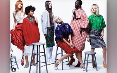 Agnez Mo Tampil Sebagai Model Majalah Vogue AS Edisi Maret 2018