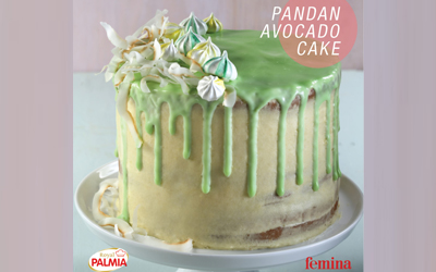 Dessert to Impress: Pandan Avocado Cake