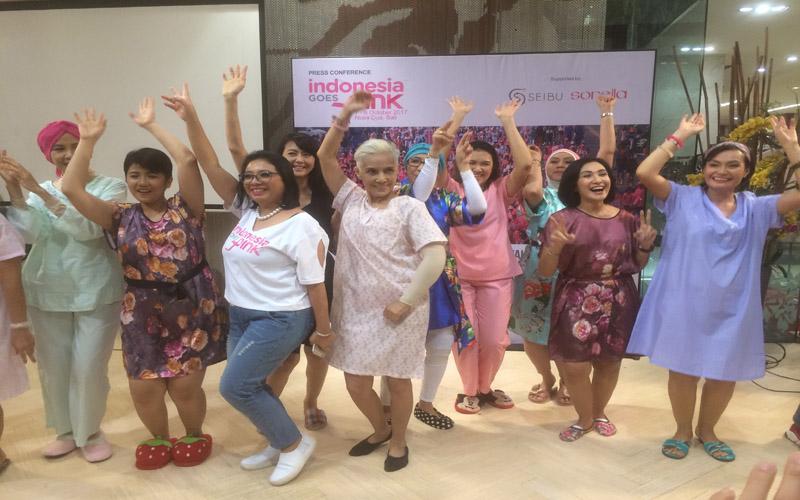 Indonesia Goes Pink Di Bali untuk Mendorong Deteksi Dini Kanker Payudara