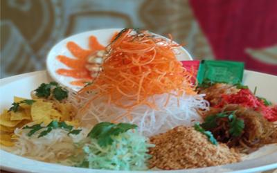 Yee Sang, Sajian Salad Segar Penuh Doa Khas Imlek