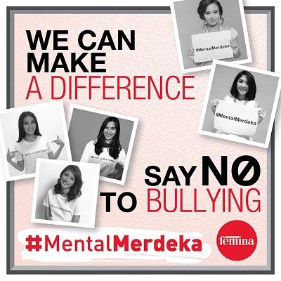 Saatnya Bebas dari Bullying! Miliki #MentalMerdeka