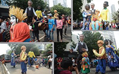 Jangan Lewatkan Parade Ondel-Ondel Ala Prancis di Kota Tua Jakarta Hari Ini, Gratis!