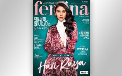 Femina Food & Travel Issue, Juni 2018