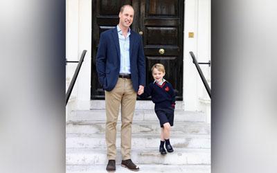 Sepatu Sekolah yang Dikenakan Langsung Laku Terjual, Pangeran George Jadi Trendsetter