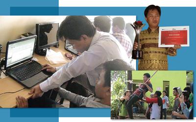 Tutus Setiawan, Mengangkat Derajat Penyandang Tunanetra