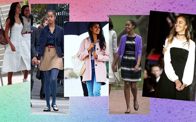 Transformasi Gaya Malia Obama, Si Girly yang Makin Matang