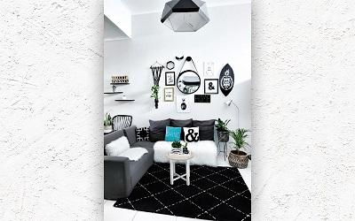 Ide Desain Interior Rumah Monokromatik Minimalis dari Leni Susanti