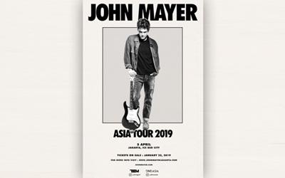 Tiket Konser John Mayer World Tour 2019 Mulai Dijual Hari Ini Dengan Harga Termurah Rp1,3 Juta