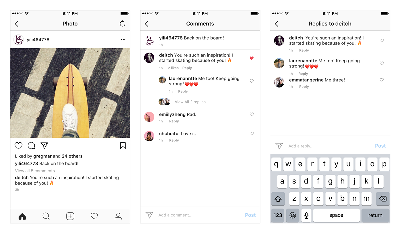 Fitur Baru Instagram, Thread Komentar untuk Ngobrol Makin Seru
