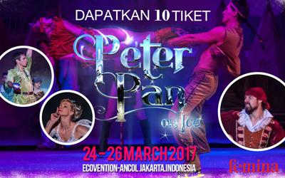 Selamat kepada 3 Pemenang Pertunjukan Peter Pan on Ice